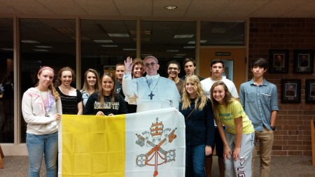 Pope Visits Faith Formation (September 2014)
