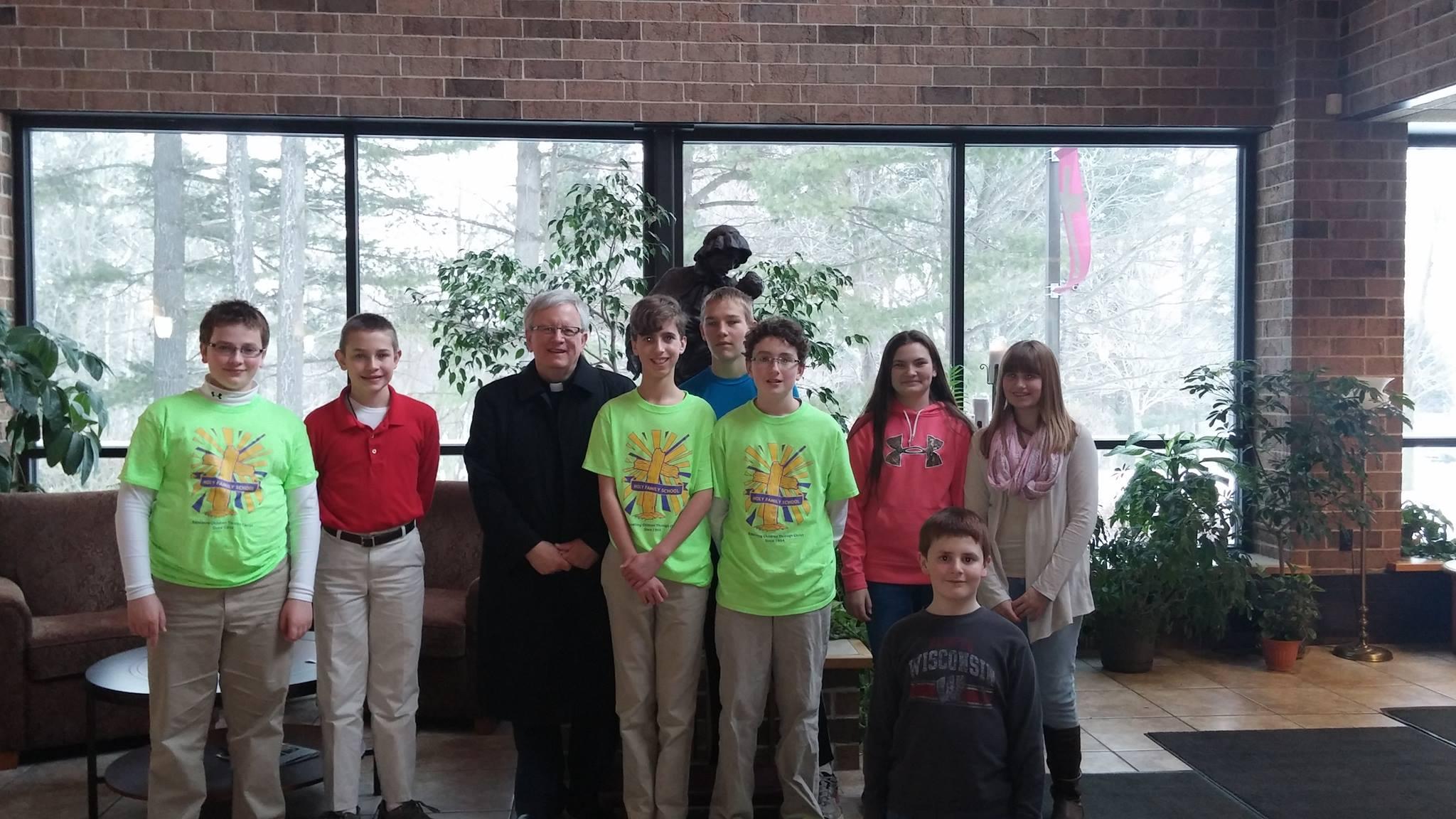 Middle School Drop In – Bishop Visits 2015