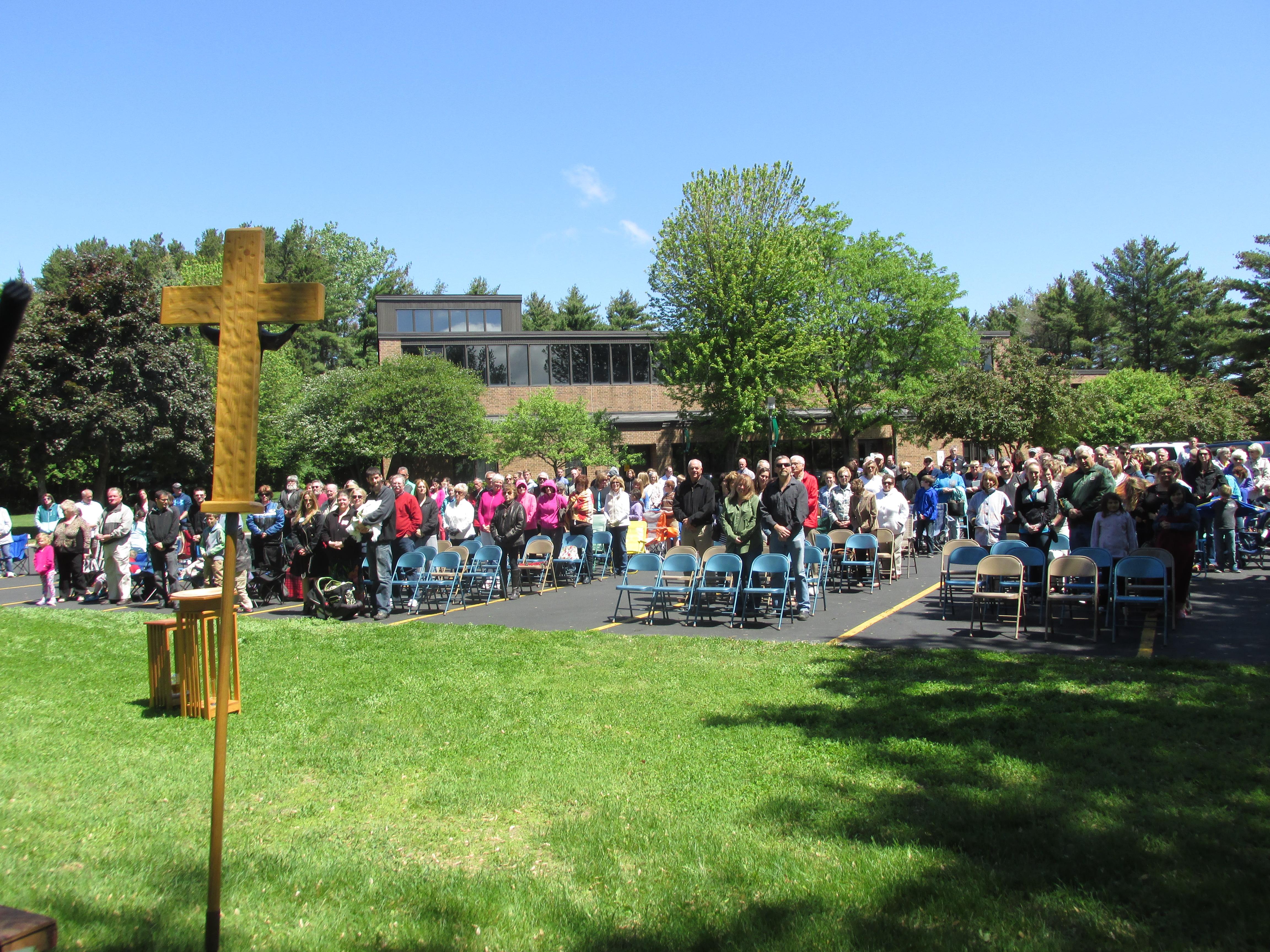 Outdoor Mass May 2015