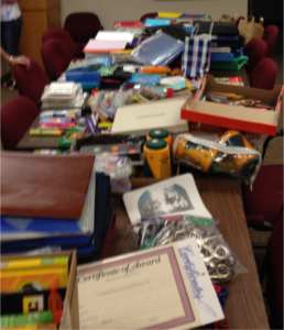 Leftover School Supplies
